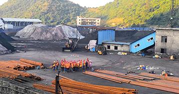 洗煤厂的大棚建设